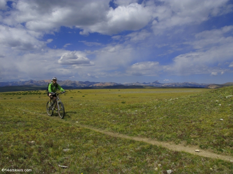 Mountain biking Snow Mesa