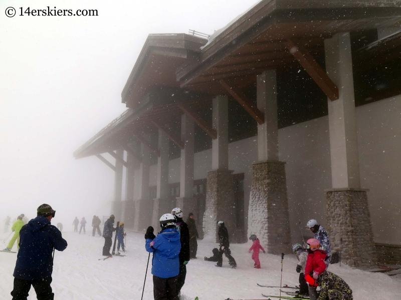 Lodge at Dragon Peak at YongPyong ski area.