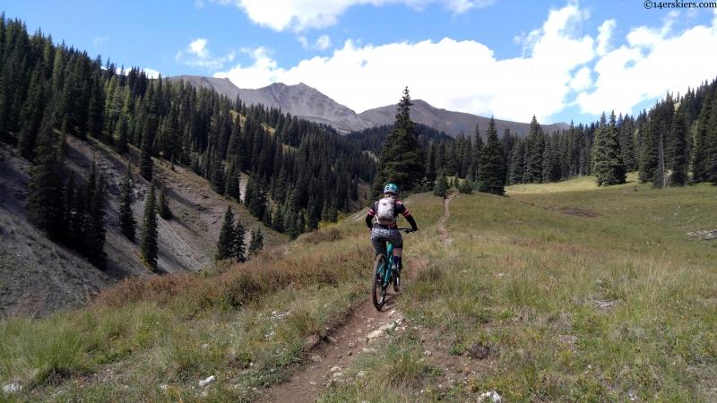 Italian mountain mountain biking
