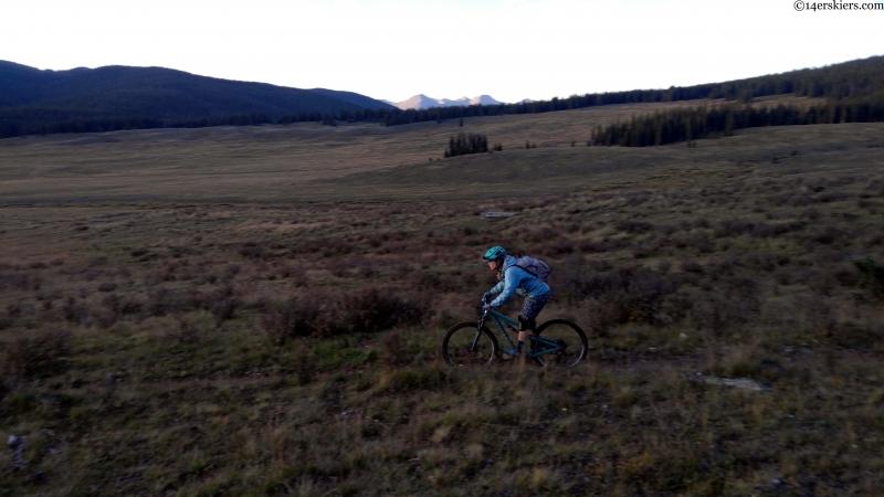 mountain biking 413 to rocky brook road