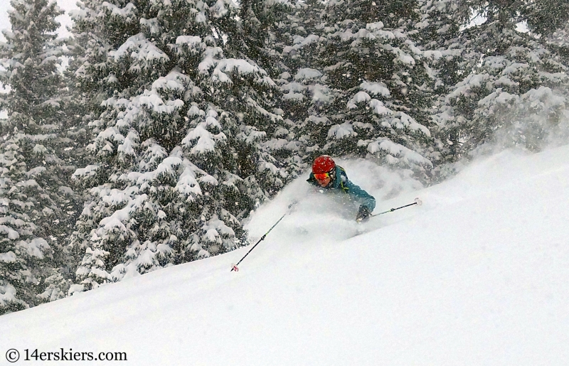 Backcountry skiing in Crested Butte, CO