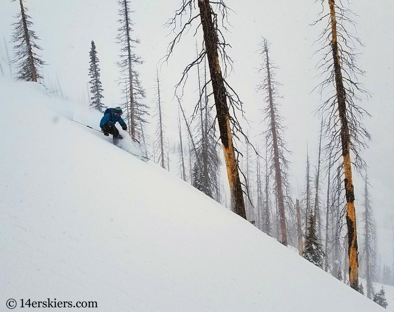 Backcountry skiing in Steamboat, Colorado!