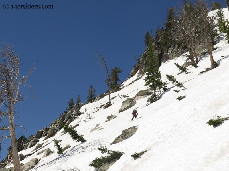 Frank Konsella skiing Mt. St. John
