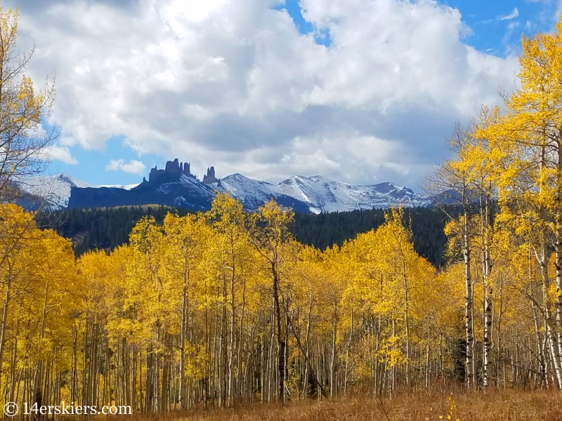 The Castles near Ohio Pass, outside of Crested Butte, CO.