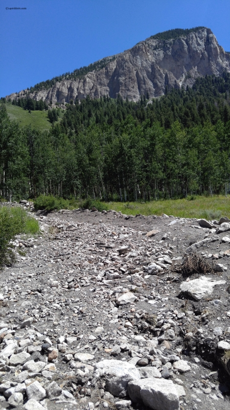 Crested Butte landslide