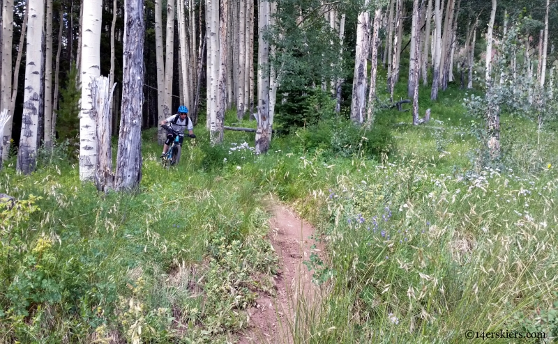 teo ridge and aspen bike riding