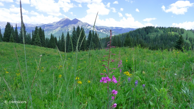 Three Lakes Trail and Beckwith Pass Hike near Crested Butte, CO