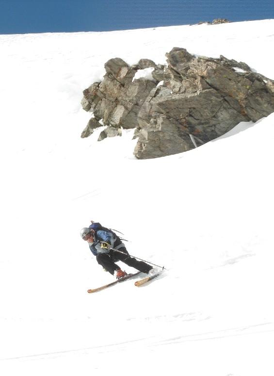 Andrew Oscar, Torreys Peak ski
