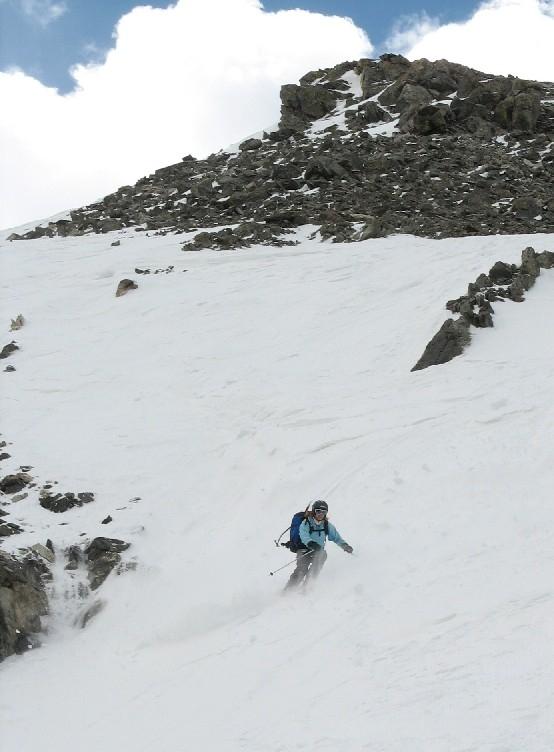 Brittany Walker Konsella, Torreys Peak ski
