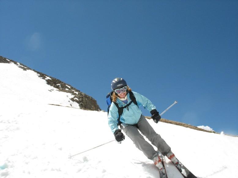 Torreys Peak ski, Brittany Walker Konsella