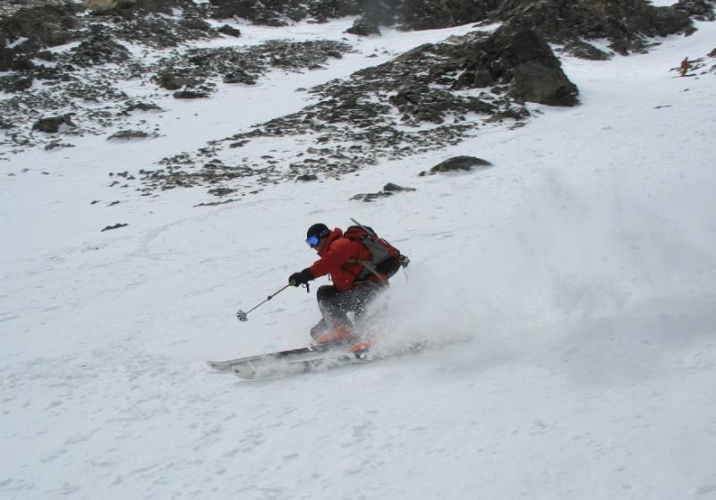Torreys Peak ski, Dave Bourassa