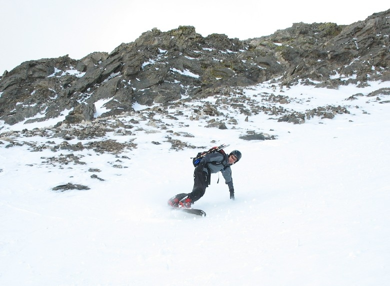 Torreys Peak snowboard