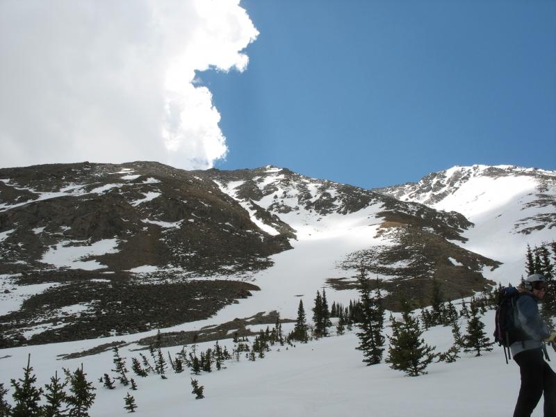 Torreys Peak ski