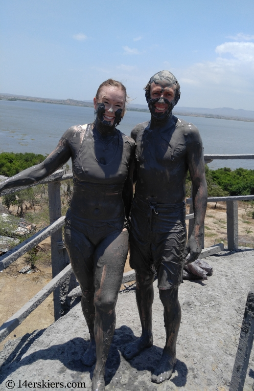 Brittany and Frank Konsella and Totumo Mud Volcano.