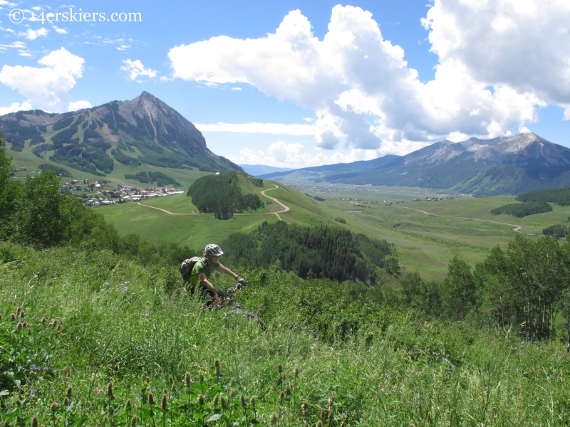 Crested Butte Snodgrass trail.