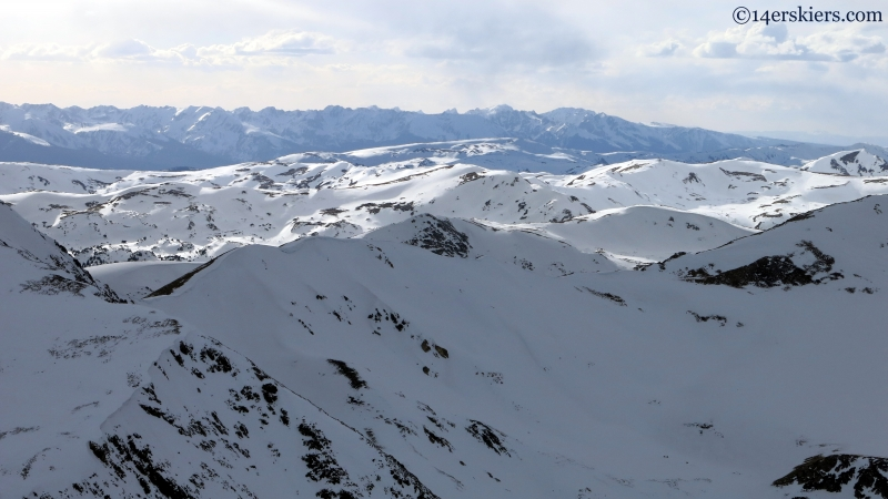 Loveland Pass and the Gore Range