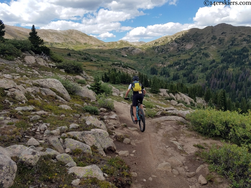 mountain biking near st elmo