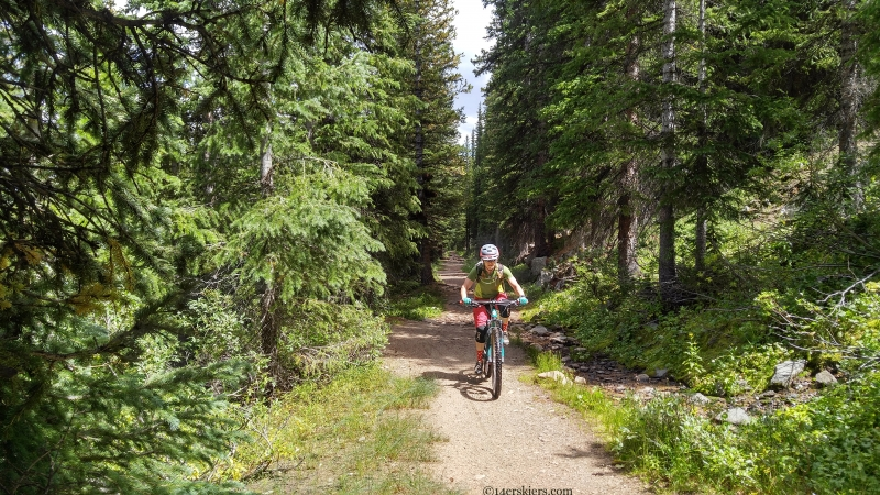 colorado trail alpine tunnel mtb
