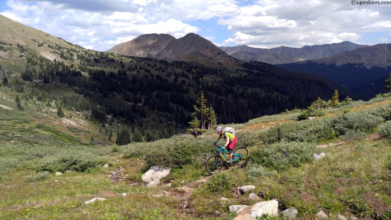 mountain biking near buena vista