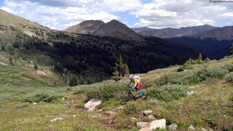 mountain biking near buena vista
