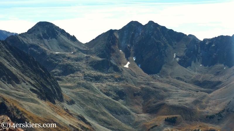 Cassi Peak and Golden Tops.