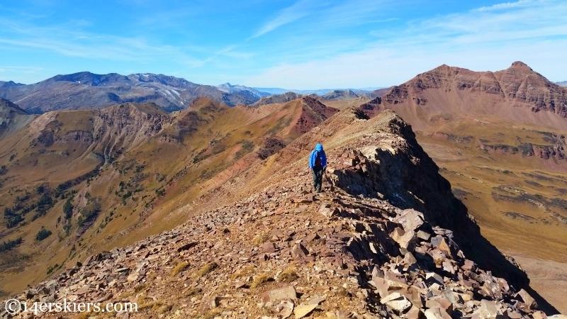 Hiking 13,130'