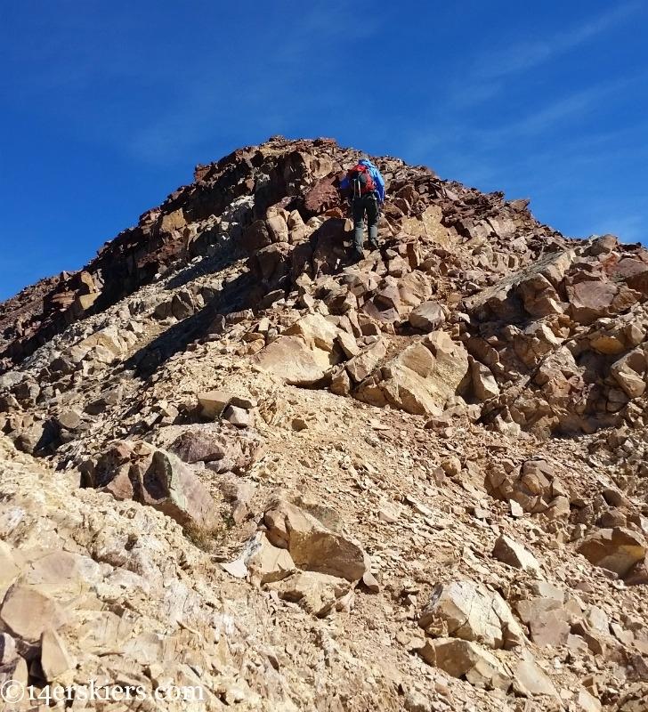 Hiking to 13,130'