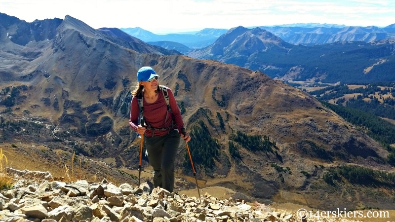 Hiking to Unnamed 13,130'