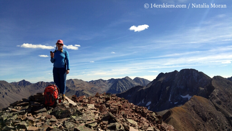 Summit of Unnamed 13,140'