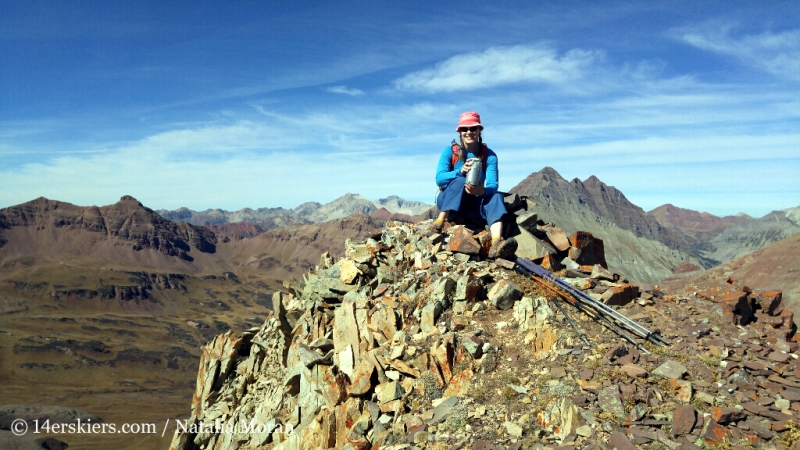 Summit of 13,130'
