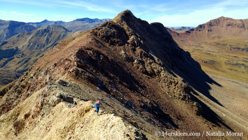 hiking Unnamed 13,130'