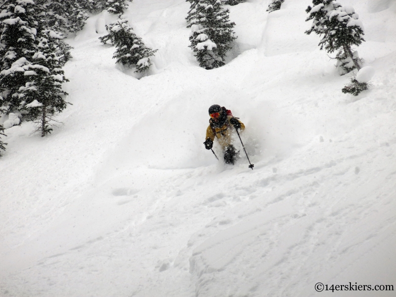 crested butte powder