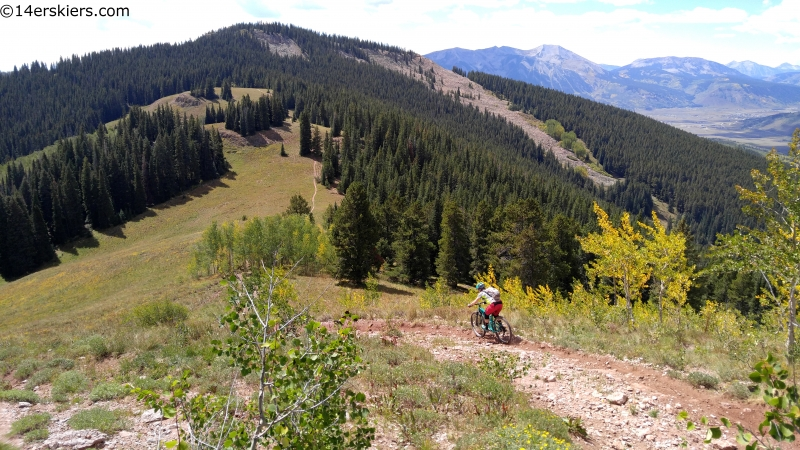 crested butte area mountain biking off the beaten path