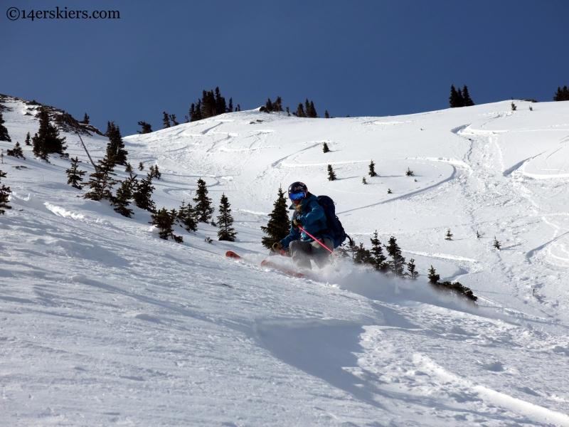 Alex Reidman ski