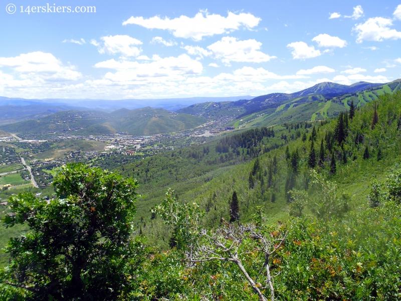 views of Park City, Utah
