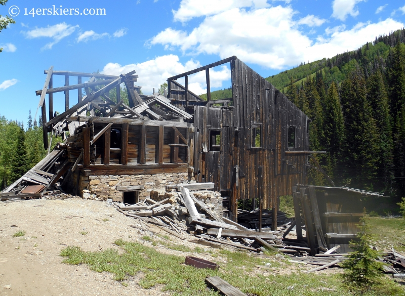 mining ruins in Park City