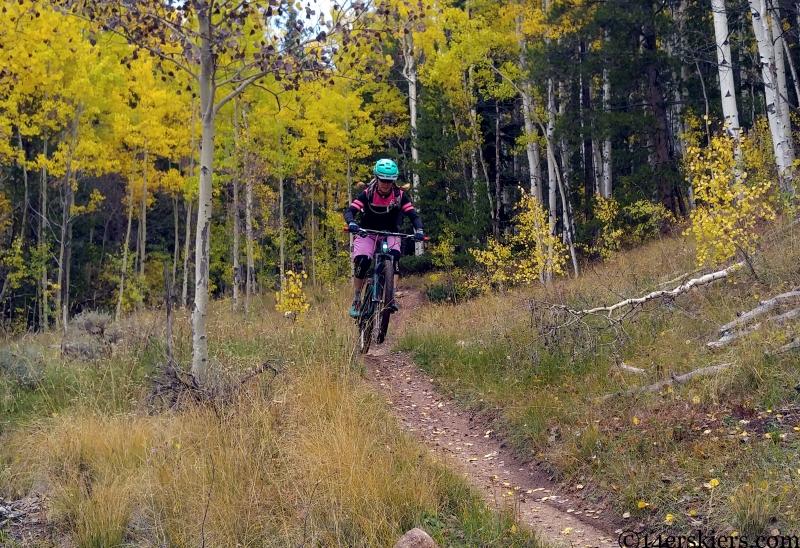 waunita trail whitepine mountain biking