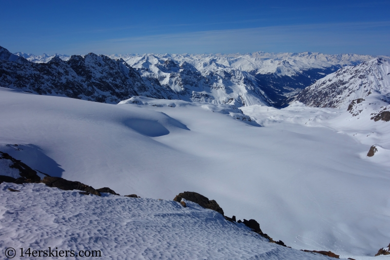View of Switzerland from Egghomlucke saddle.