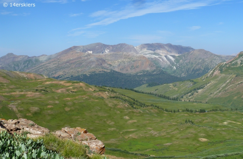 Hiking West Maroon Pass from Crested Butte to Aspen
