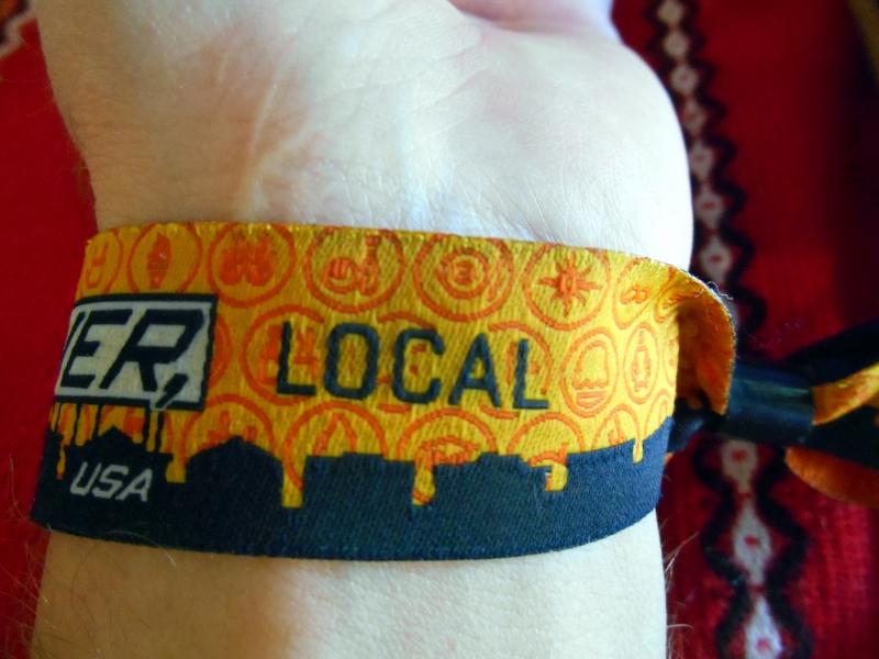 whatever usa local wristband