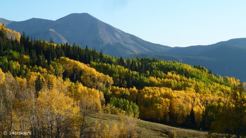 Crested Butte fall colors