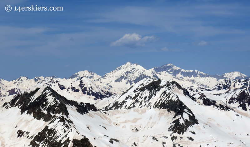 Siberia, Snowmass, and Capitol Peaks