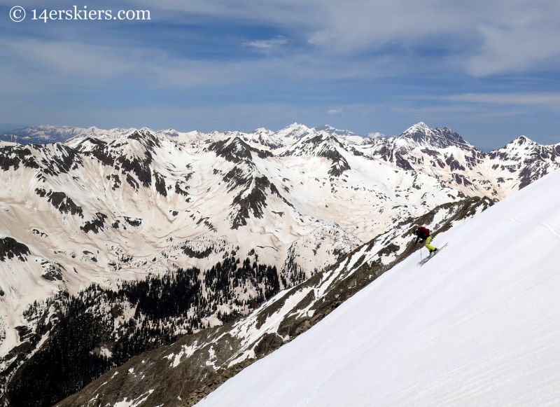 Jenny Veilleux skiing White Rock