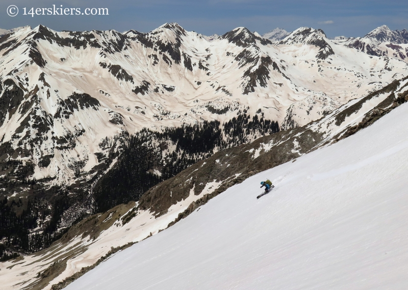 Brittany Konsella skiing White Rock