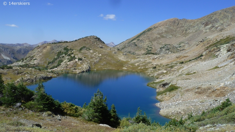 Hike to Yule Lakes near Crested Butte, CO.
