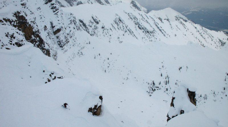 Skiing at Whitefish, Montana