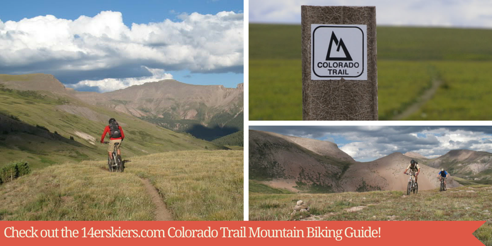 Colorado Trail Mountain Bike Guide