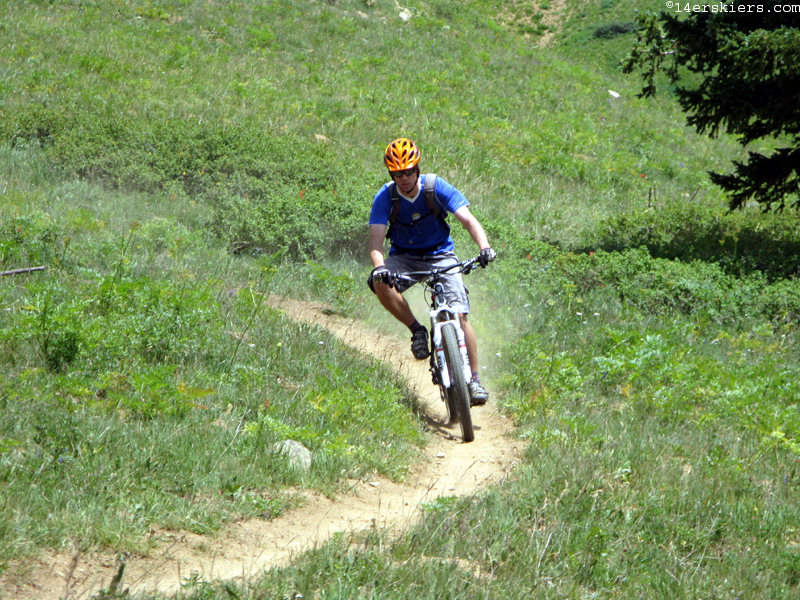 Mountain biking Crested Butte Hunter Creek Star Pass