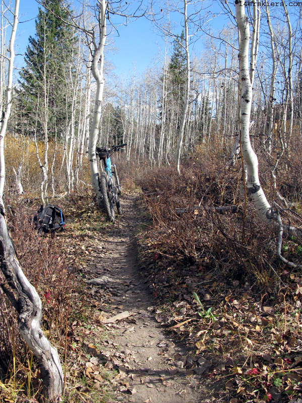 Mountain biking Crested Butte Lower Loop