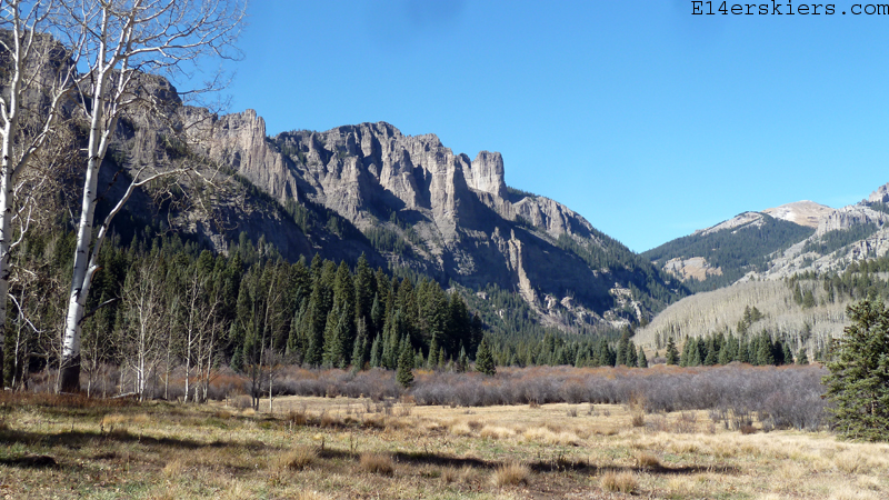 More Snowless Exploration:  Mill-Castle to Storm Pass